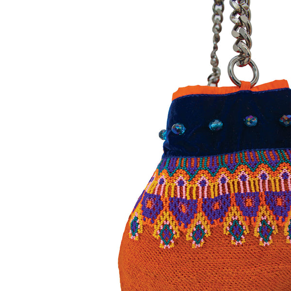Lida Tangerine Orange Shigra Bag