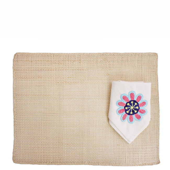 Toquilla Placemats and Napkins Set