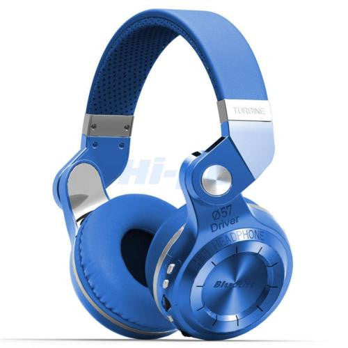 Bluedio Bluetooth 4.1 Stereo Headsets T2 Plus Hi-Fi Wireless Headphone Universal