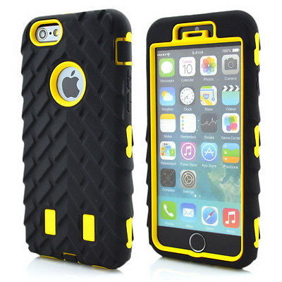 For Apple iPhone 7 Plus 6s case Rugged Protective Hybrid Hard Rubber Case Cover