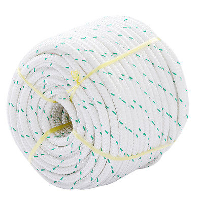 3/7'' x 150' Double Braid Polyester Rope Sling 5900Lbs BREAKING STRENGTH