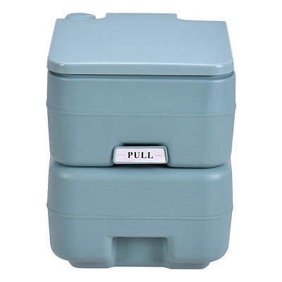 5 Gallon / 20L Portable Toilet Flush Travel Outdoor Camping Hiking Toilet Potty