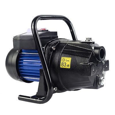 Goplus 1200W 1'' Shallow Well Water Booster Pump Home Garden Irrigation 1000GPH