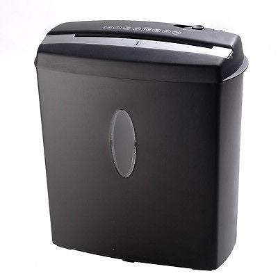 New 10 Sheet Cross-Cut Paper/Credit Card/Staples Shredder w/ Basket Home Office