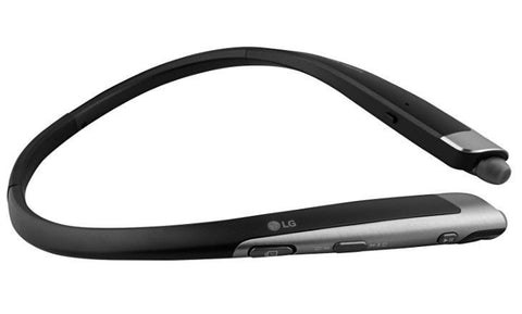 New LG Tone Platinum HBS-1100 Bluetooth Headset Harman Kardon Platimum Black