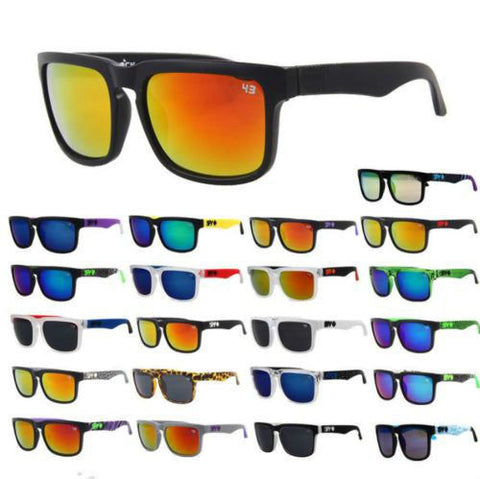 Outdoor Sport Fashion Unisex Retro  Block Cycling Helm Sunglasses Aviator