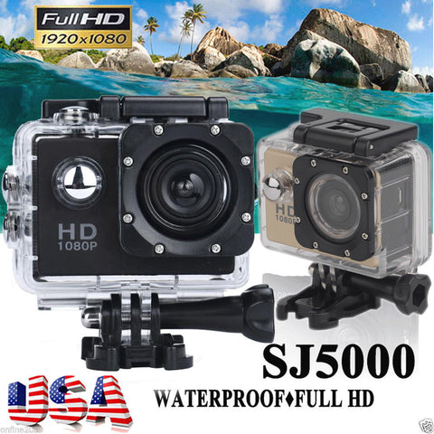 SJ5000 ULTRA HD WATERPROOF EXTREM SPORTS CAMERA DV 1080P VIDEO ACTION CAMCORDER