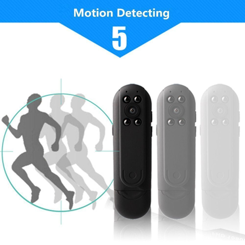 Mini 1080P HD Hidden SPY Camera Night Vision Motion Detection Video Recorder Cam