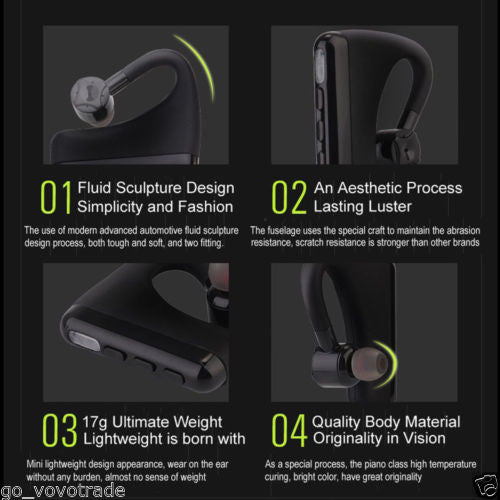 Mini Twins Wireless Bluetooth Stereo Headset In-Ear Earphones Earbuds for Iphone