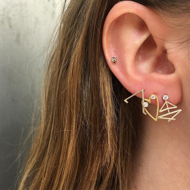Triangle Pose Earrings