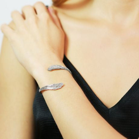 Double Tail Cuff, Silver