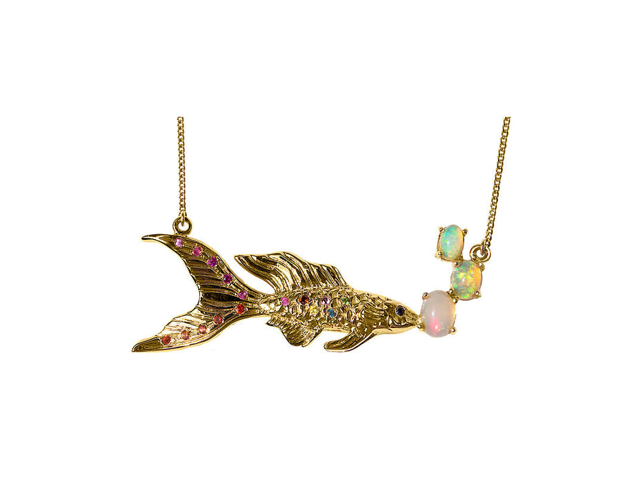 Timothy 1 Fish Necklace