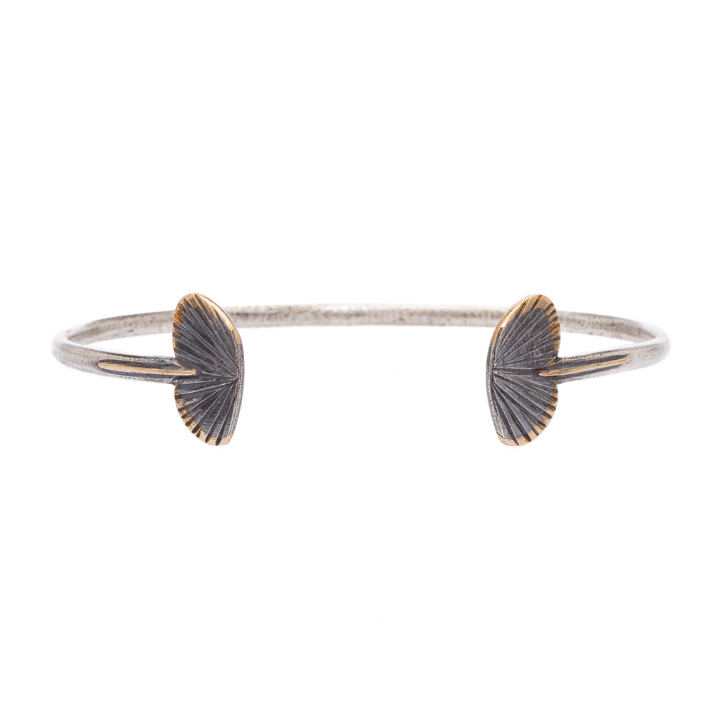 Baby Asterope Cuff, Silver and Gold