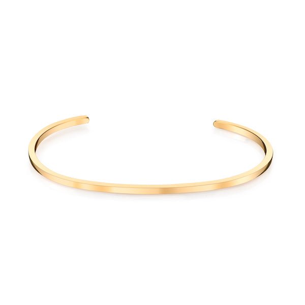 One Liner Cuff, Gold