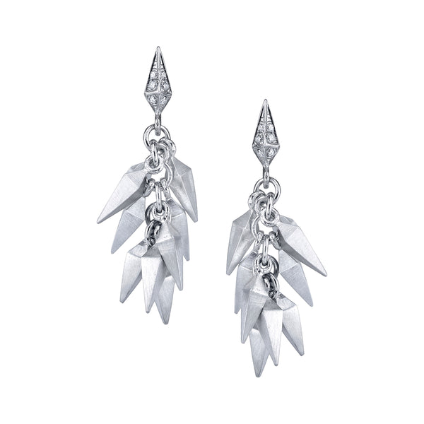 Trickling Stardust Short Earrings