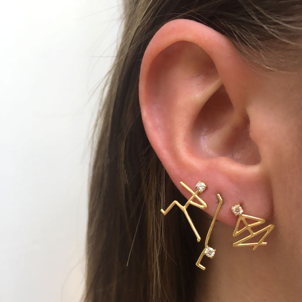 Handstand Earrings