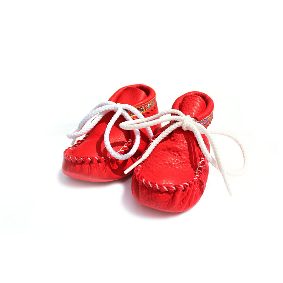 Infant Shoes, Red