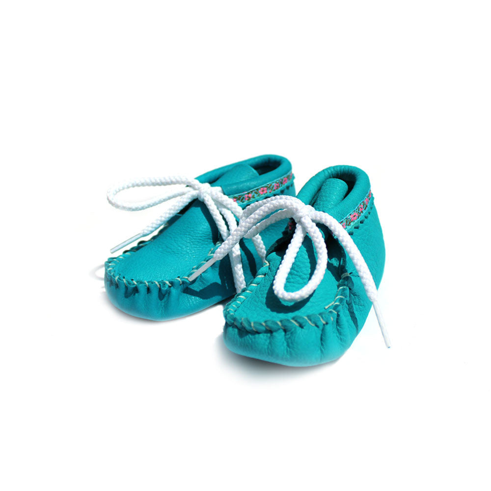 Infant Shoes, Turquoise