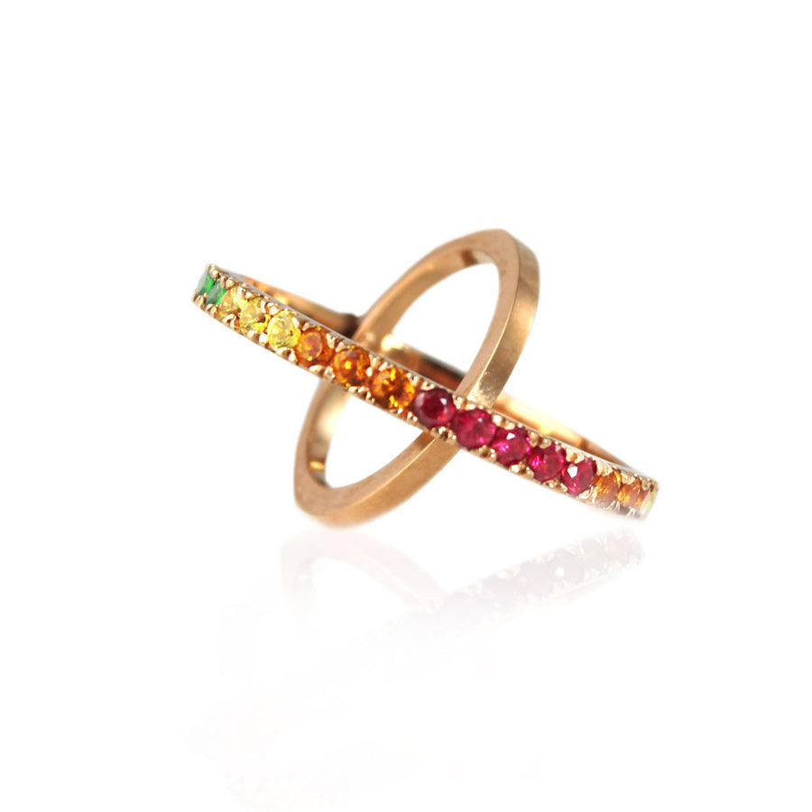 Rainbow Light Spectrum Ring