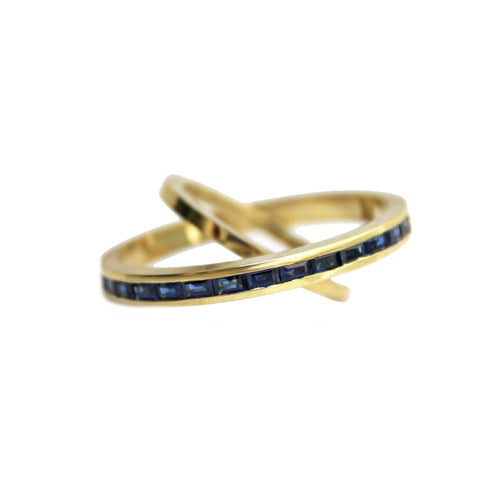 Rattlesnake Ring, Yellow Gold