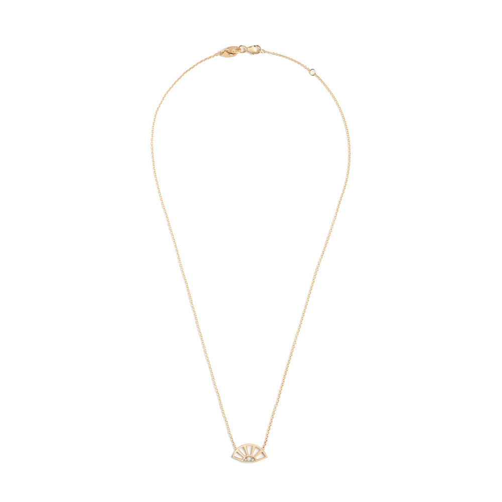 Helia Necklace, Yellow Gold