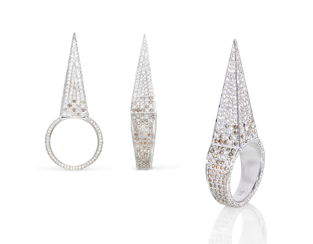 Diamond Spear Ring