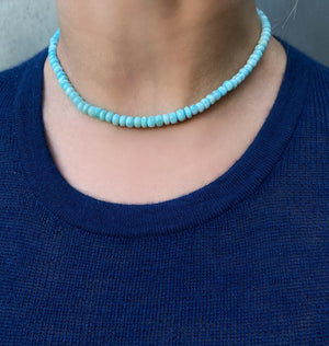 Larimar Caribbean Necklace