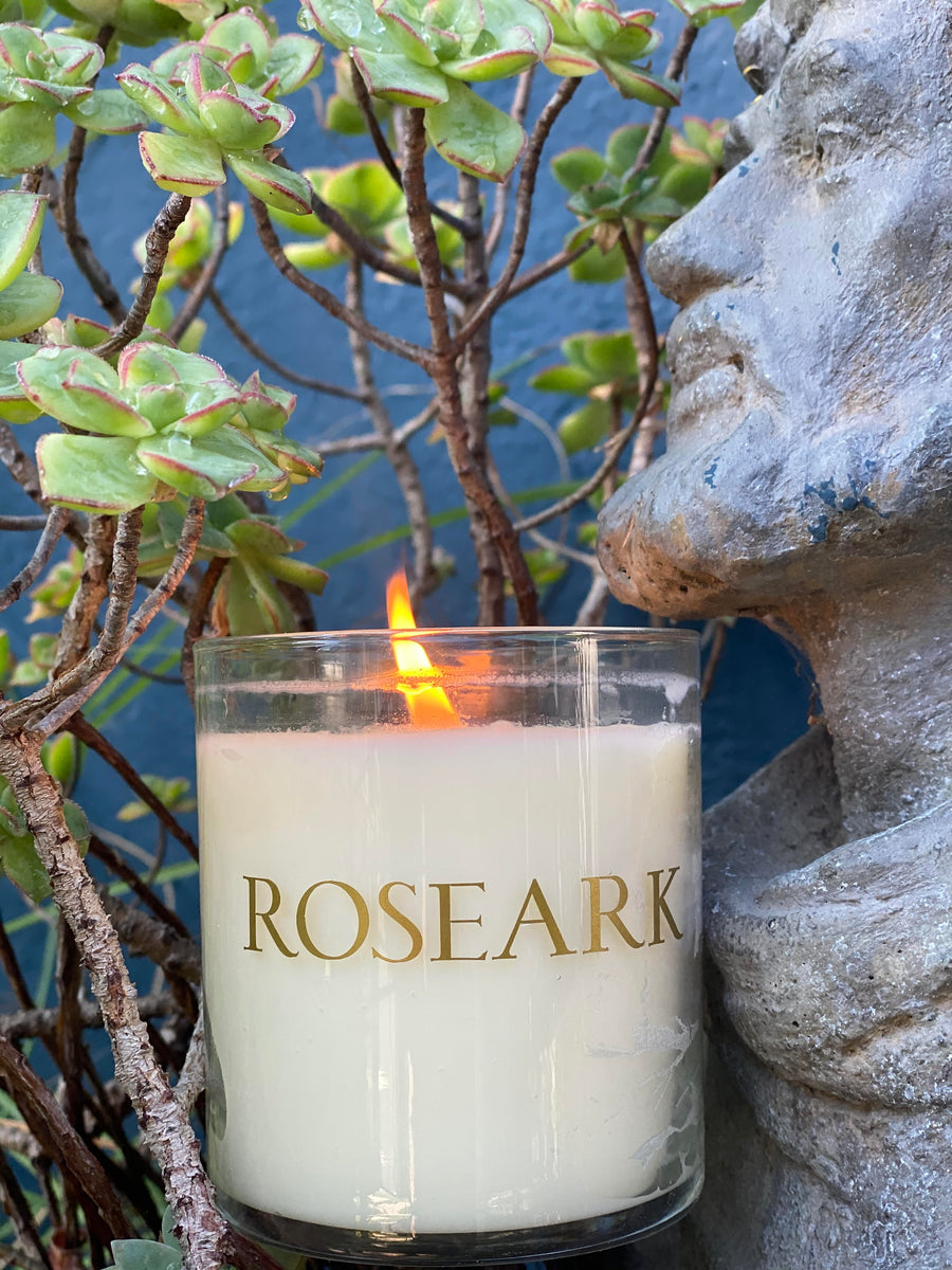 Large Roseark Candle