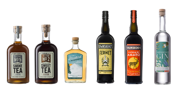 Townshends distillery spirits gin tea amaro fernet