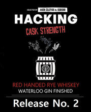 Treaty Oak Distilling Red Handed Rye - Gin Finished