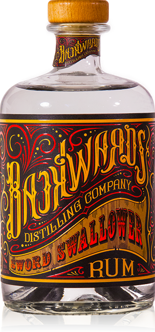 Backwards Distilling Company Sword Swallower Rum