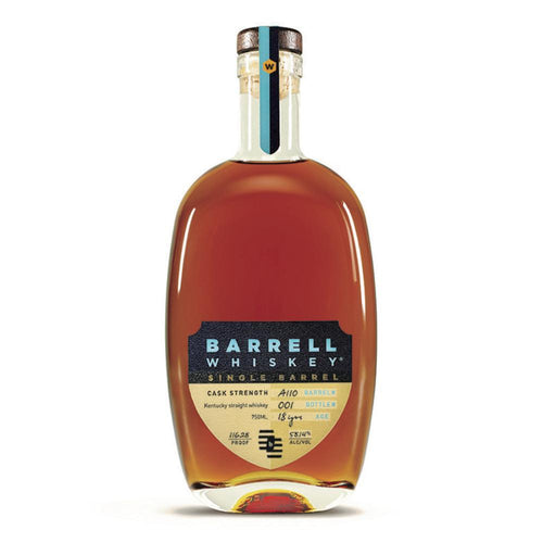 Barrell Whiskey Single Barrel 18YR KY Whiskey A137