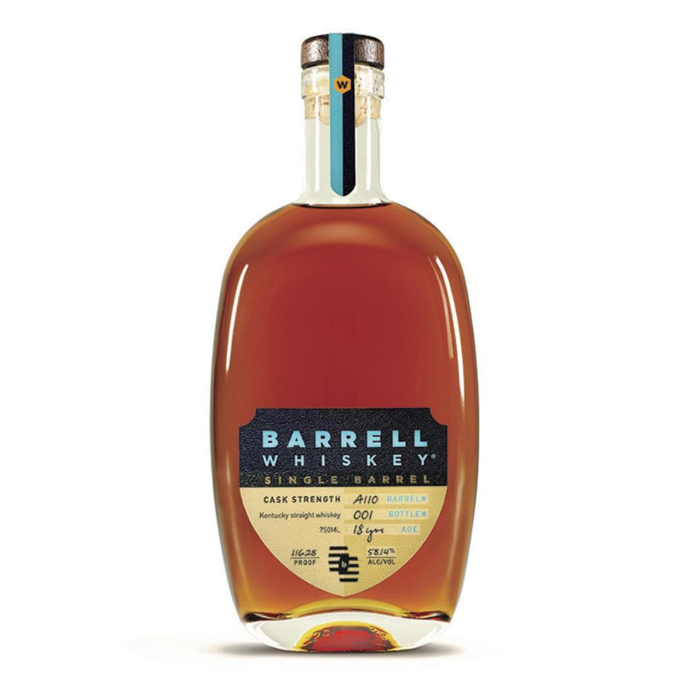 Barrell Whiskey single barrel 18 year KY whiskey A118