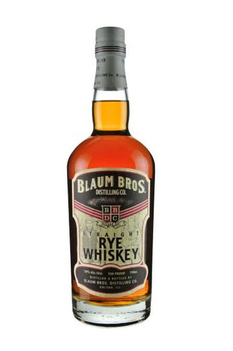 Blaum Bros. Straight Rye Whiskey