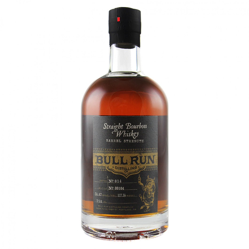 Bull Run Distillery Barrel Strength Bourbon