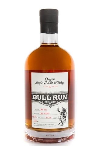 Bull Run Distillery Oregon Single Malt Whiskey