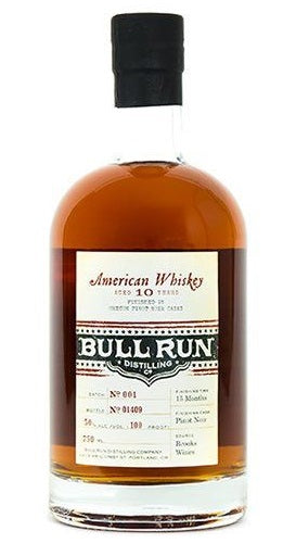 Bull Run Pinot Noir Finished American Whiskey