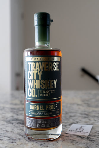 Traverse City Whiskey Co. Private Barrel Rye