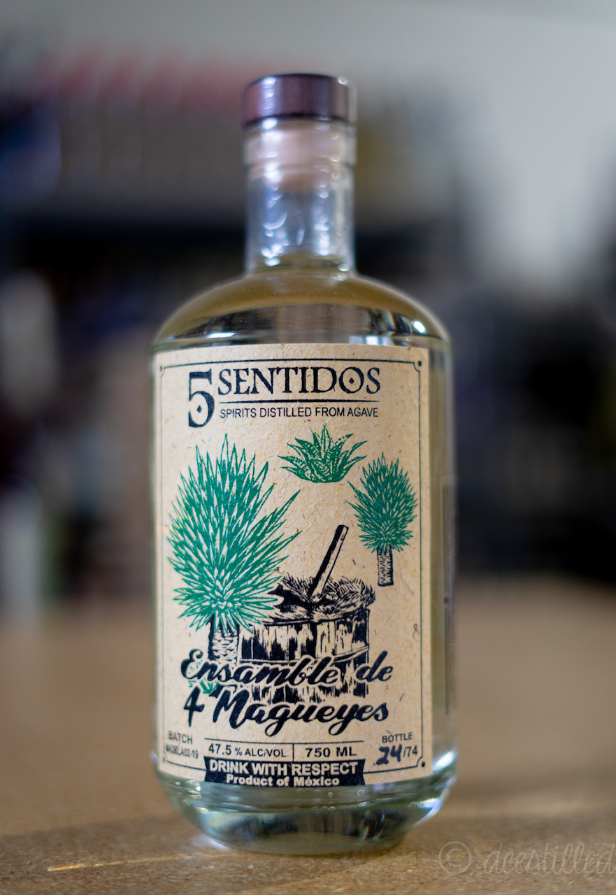 Cinco Sentidos Single Batch Ensamble de 4 Magueyes