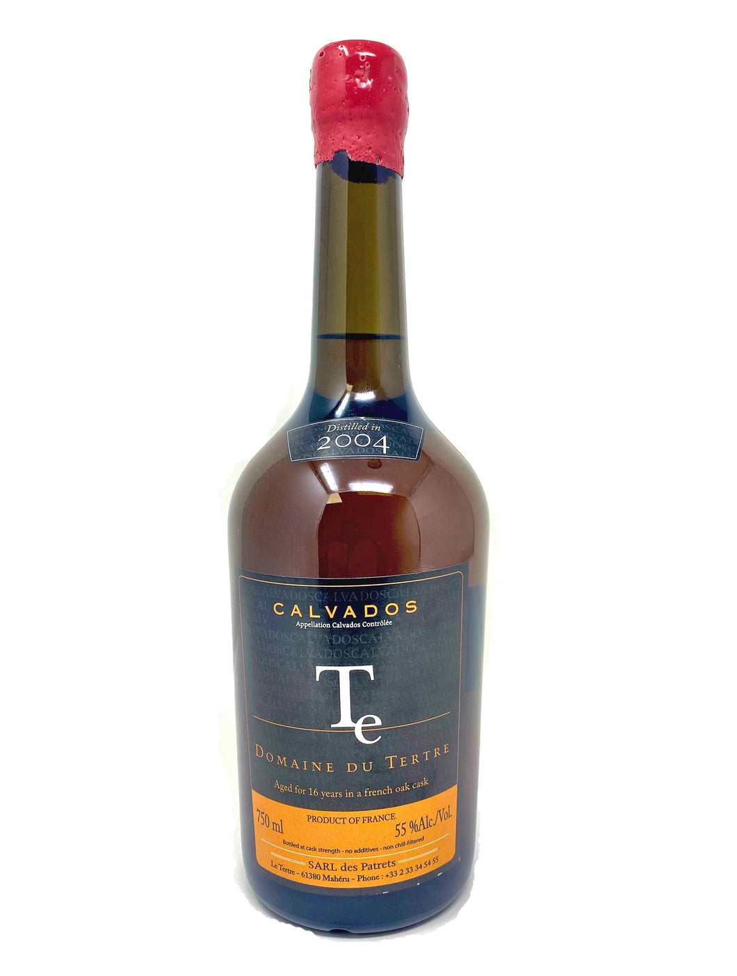 Domaine du Tertre 2004 Calvados - Selected by Seelbach's