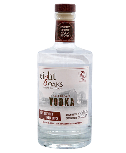 Eight Oaks Distillers American Vodka