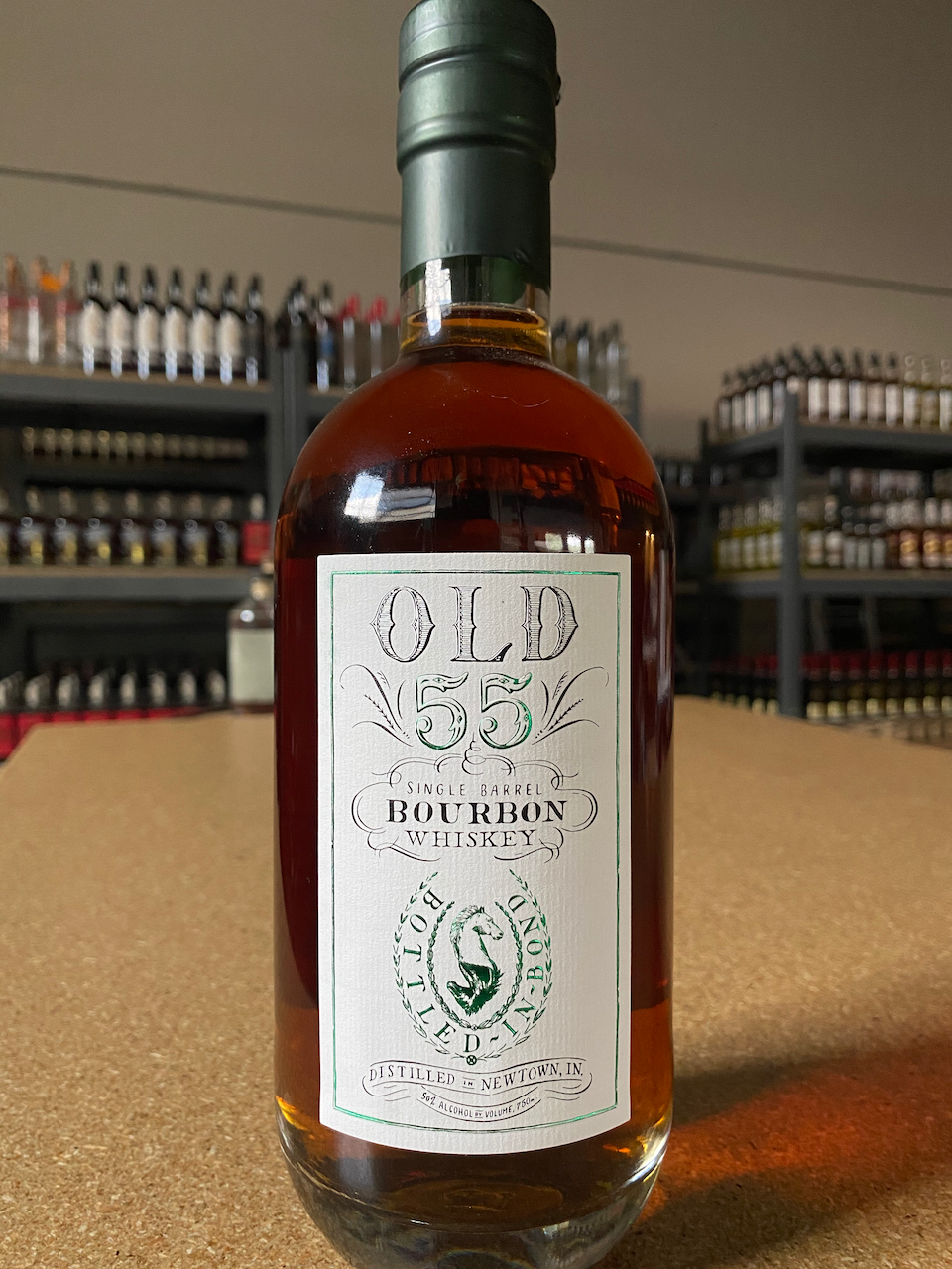Old 55 Bottled-In-Bond Bourbon