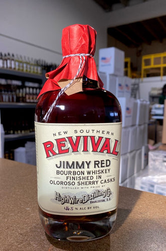 High Wire Distilling Jimmy Red Bourbon finished in Oloroso Sherry Casks