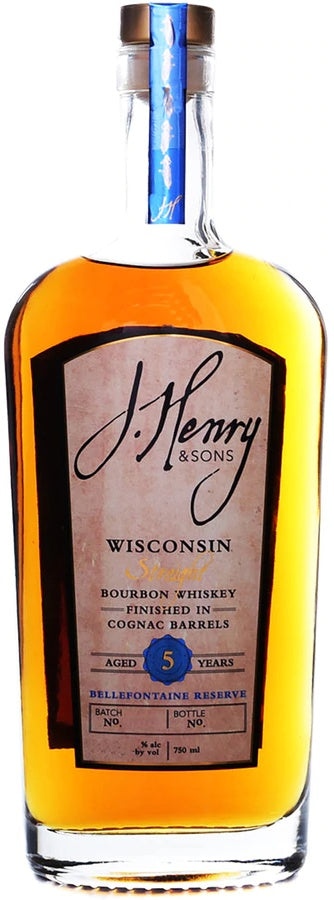 J. Henry & Sons Bellefontaine Bourbon Finished in Cognac Barrels