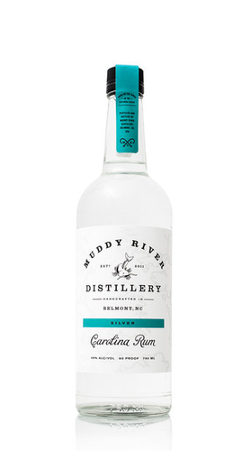 Muddy River Distillery Silver Carolina Rum