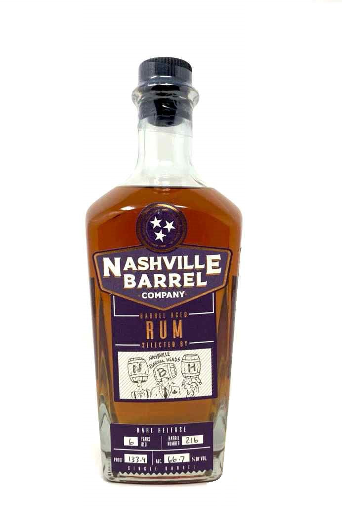 Nashville Barrel Co. Single Barrel Rum - Nashville Barrel Heads