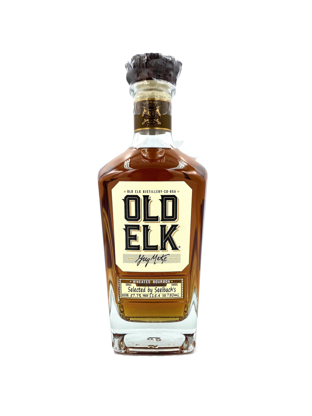 Old Elk Wheated Bourbon - Selected By Seelbach's