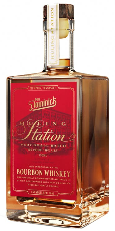 Old Dominick Huling Station Small Batch Bourbon Whiskey