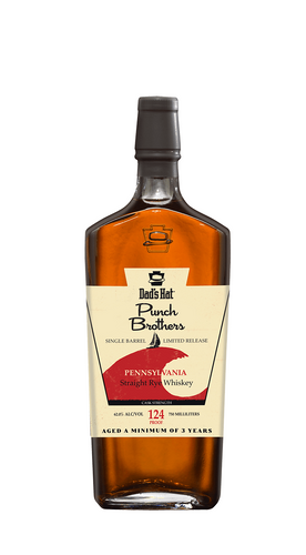 Dad's Hat Rye Punch Brothers Single Barrel
