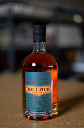 Bull Run Straight Rye Whiskey Finished In Tequila Barrels - Seelbach's Select